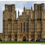 071121-140942 The Great West Front of Wells Cathedral with Its Collection of Medieval Sculpture